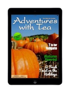 Adventures with Tea - Fall 2013