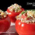 Crab-stuffed Tomatoes