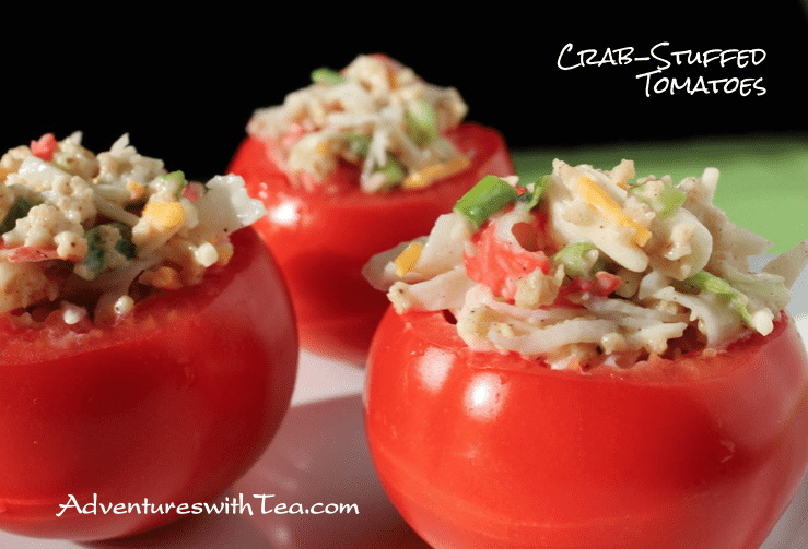 Crab-stuffed Tomatoes
