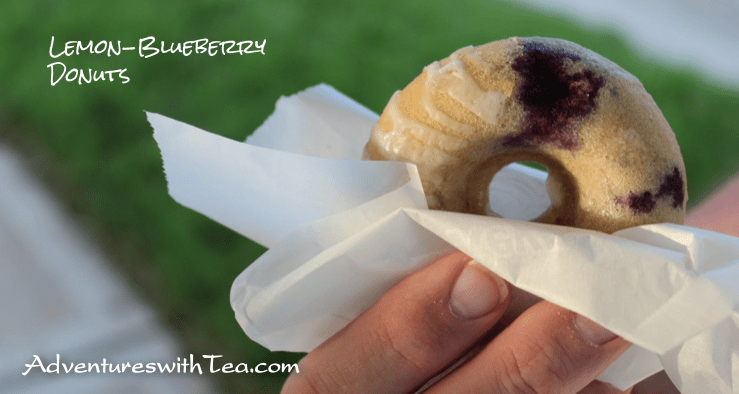 Lemon-Blueberry Donuts