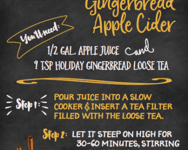 Gingerbread Apple Cider