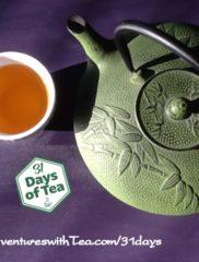 31 Days – Day 18: Green rooibos sampler