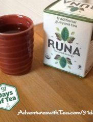 31 Days – Day 19: Runa traditional guayusa