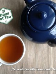 31 Days – Day 26: Raspberry green rooibos sampler