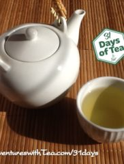 31 Days – Day 29: Bamboo tea sampler