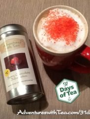 31 Days – Day 31: Sweetheart Latte