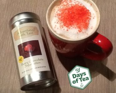 Day 31 of 31 Days of Tea: Sweetheart Latte