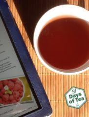 31 Days – Day 6: Raspberry green tea
