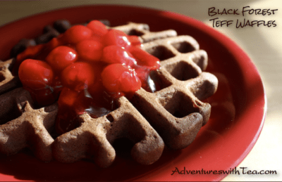 Black Forest Teff Waffles