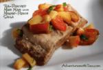 Tea-Poached Mahi Mahi with Mango Peach Salsa