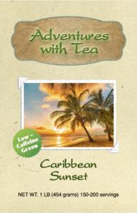 Caribbean Sunset green tea