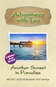 Another Sunset in Paradise herbal tea