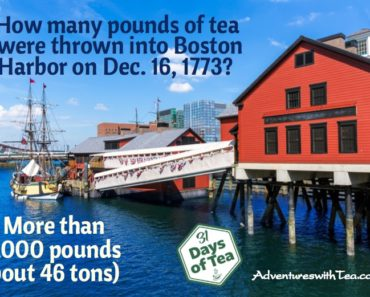 Boston Tea Party trivia