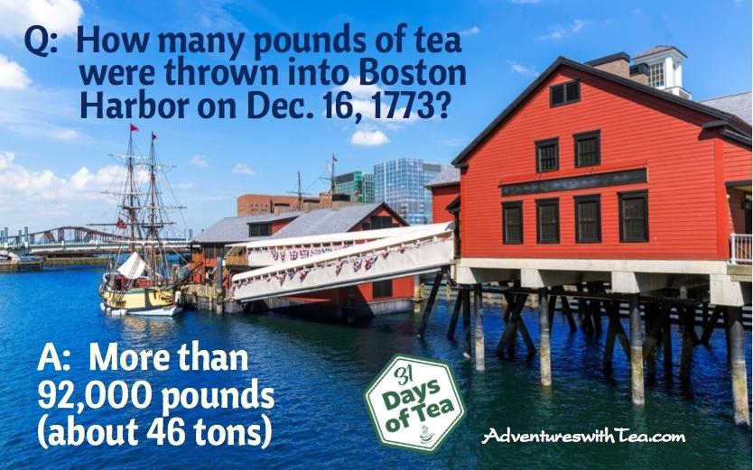Boston Tea Party trivia