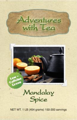 Mandalay Spice green tea