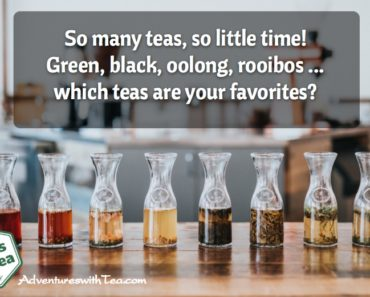 Favorite types of tea
