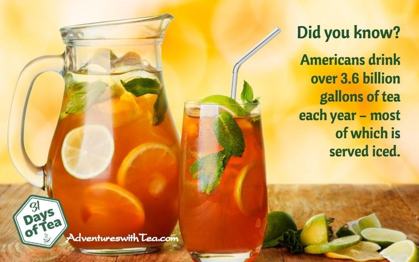 US tea drinking statistics