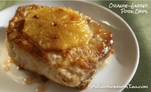 Orange-Glazed Pork Chop